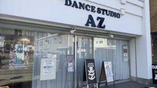 ダンススタジオで人物撮影